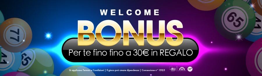 <p>BONUS BENVENUTO BINGOFINO A 30€</p>